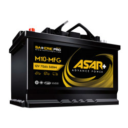 Batterie Asar+ M10-MFG
